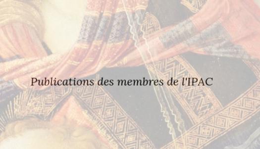 Publications des membres de l'IPAC