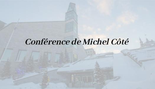 Troisième conférence des « Récits du patrimoine »