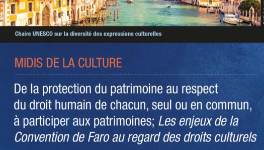 Nouvelle conférence des Midis de la culture