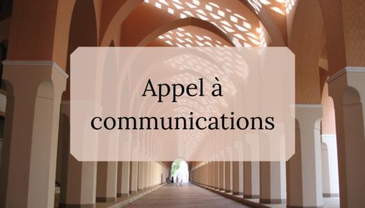 Appel à communications – Quatorzième rencontre internationale des Jeunes Chercheurs en patrimoine
